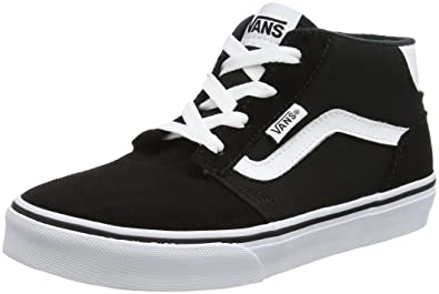 8cd57bd2eb Vans Boys YT Chapman Mid Hi-Top Sneakers  Amazon.co.uk  Shoes   Bags