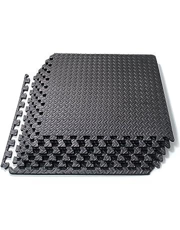 Basics Hardware Enclavamiento azulejos de espuma EVA Puzzle alfombrilla de ejercicio, Protector de suelos para