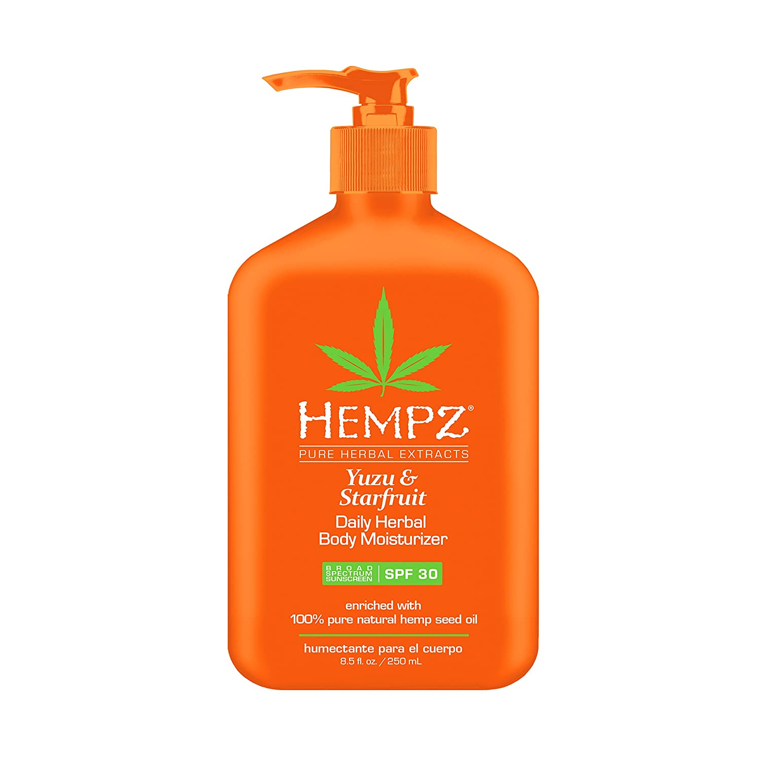 Hempz Yuzu & Starfruit Daily Herbal Moisturizer with Broad Spectrum SPF 30