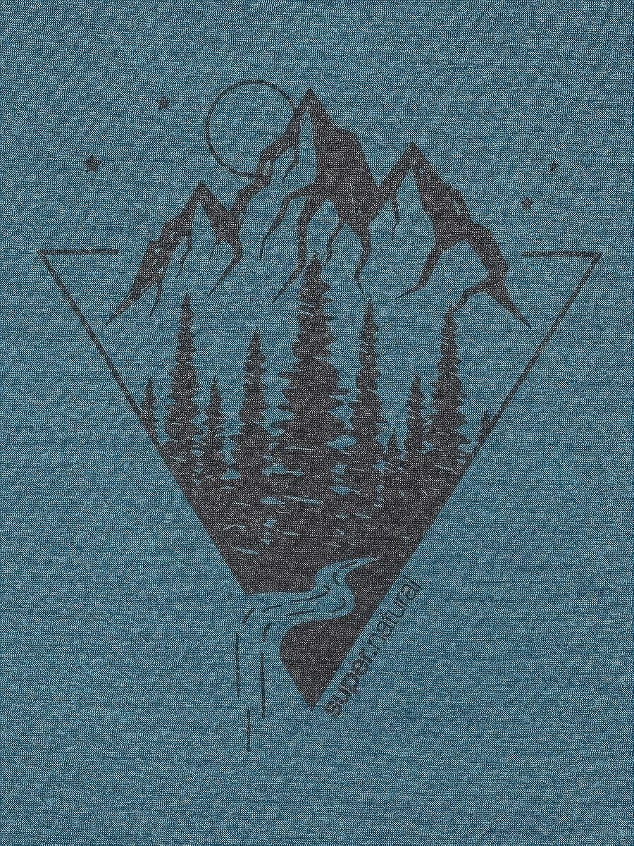 Camiseta de Manga Corta para Hombre Unzutreffend super.natural Graphic Color oto/ño//Invierno Hombre
