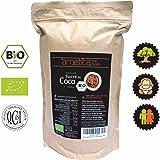 Sucre de Fleur de Coco Bio arnetica, 1000g 1Kg Sucre de Coco Pur, Certifié Organique, Non Raffiné, Sucre Complet, Index Glycémique Faible, Philippines