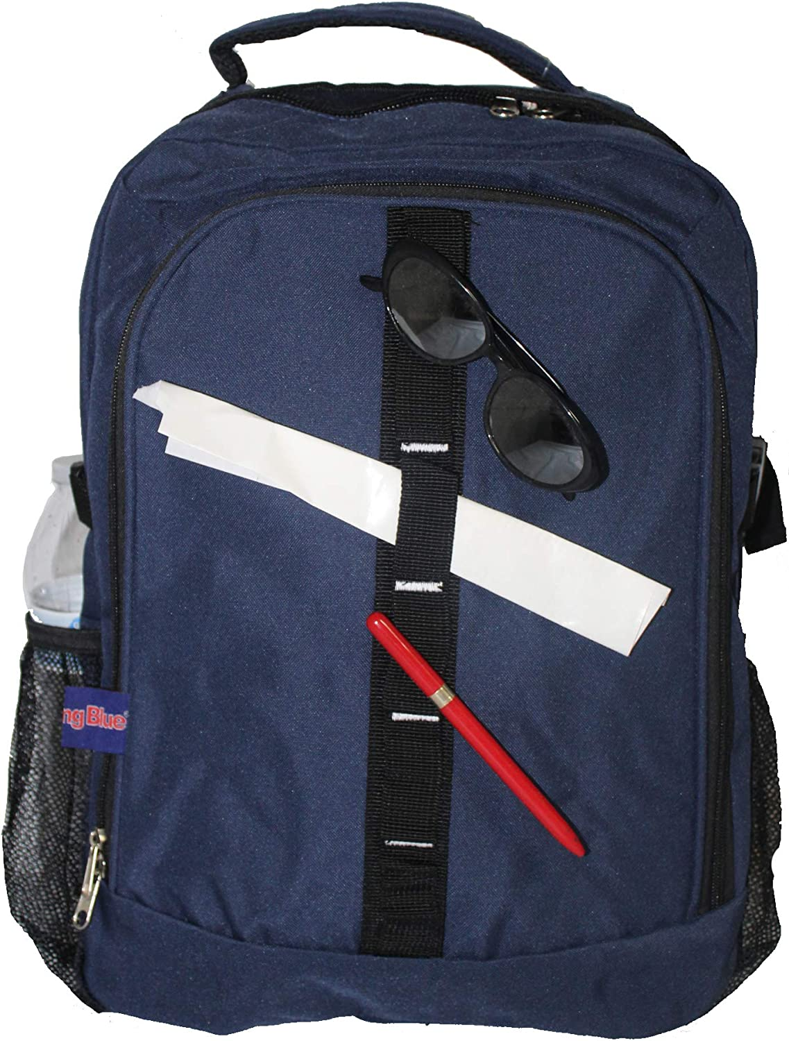 """18"""" Personal Item Under Seat Laptop Backpack for American, South West, Spirit, Frontier Airlines"""