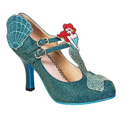 Banned , Mary Janes pour femme bleu aqua - bleu - aqua,