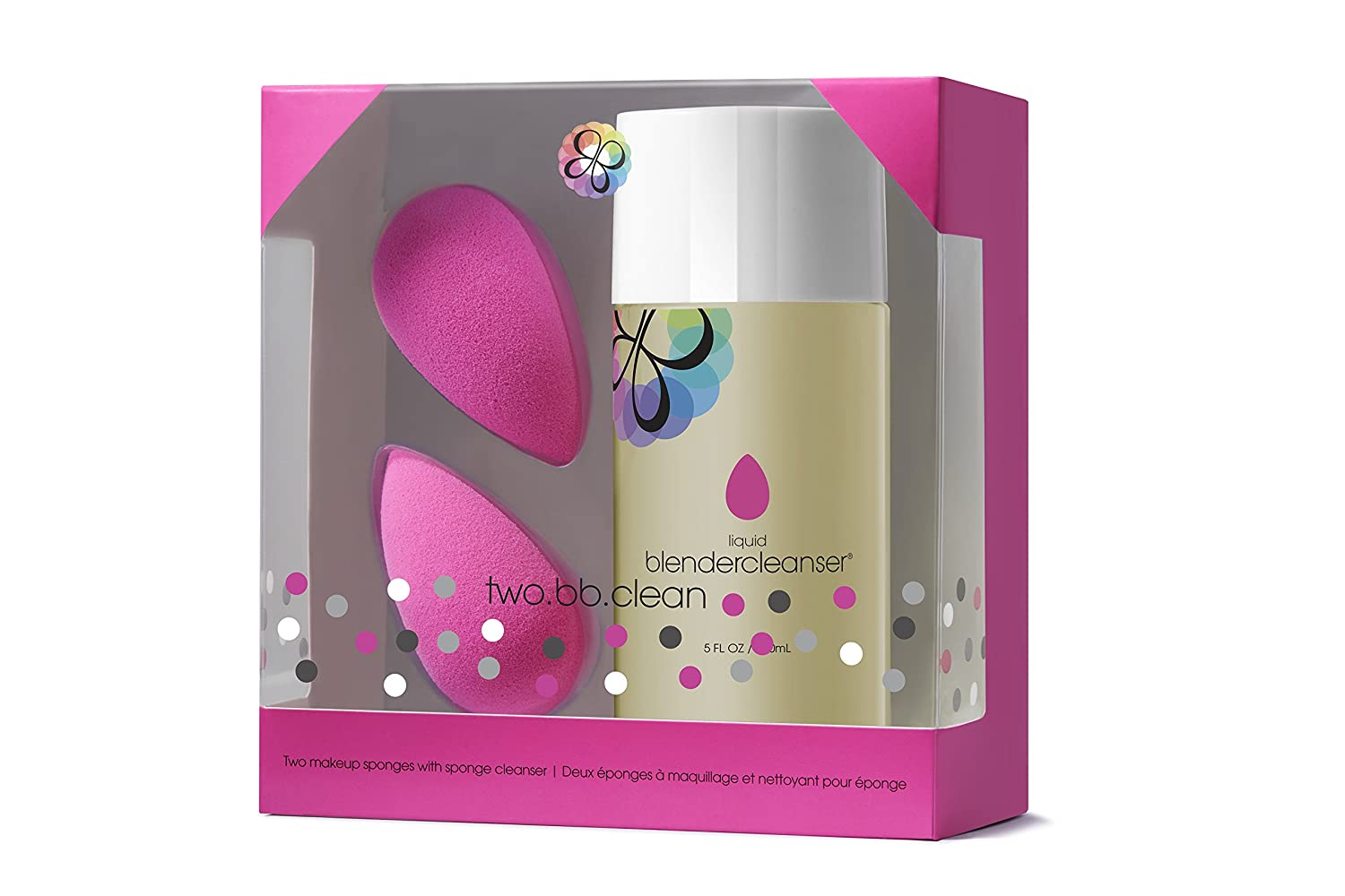 beautyblender two.bb.clean (two original beautyblenders with liquid blendercleanser) Rea.deeming Beauty Inc. 2XSC239