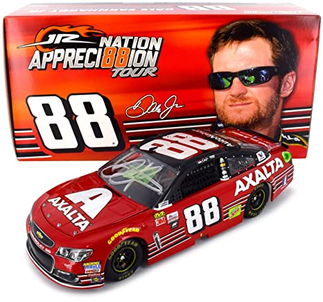 Toys & Games Lionel Racing Dale Earnhardt Jr Autographed 2017 Axalta/Final Ride 1:24 Nascar Diecast