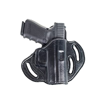 Open Top Belt OWB Leather Holster for Beretta PX4 Storm  Three Slot Pancake  Outside The Waistband Holster