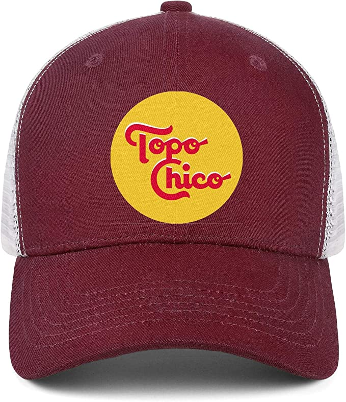 Cap Athletic Sun Hats UONDLWHER Adjustable Unisex Topo-Chico-Mineral-Water