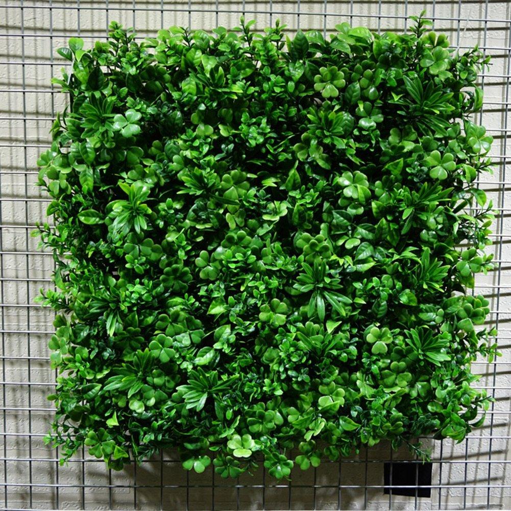 WENZHE 人工 フェイクアイビー 緑の植物のシミュレーション 壁掛け式 インドア アウトドア ホーム バルコニー 背景壁 装飾品 フェードしないで、 50×50cm (サイズ さいず : 8 pieces) B07DB2P2S7  8 pieces