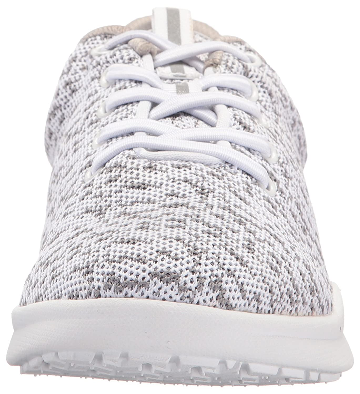 SoftWalk Women's Sampson Sneaker B01M7YOE94 5 B(M) US|White Knit