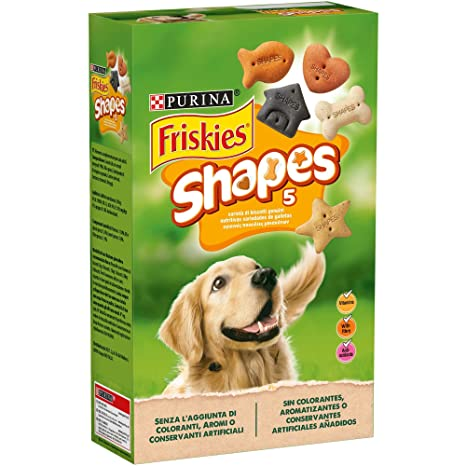 Purina Friskies Shapes galletas para perros 6 x 800 g