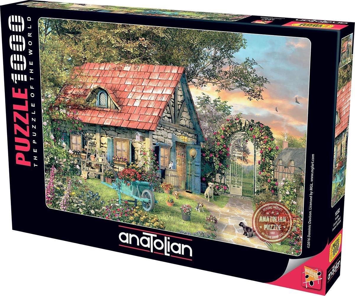 Anatolian 1000Piece Jigsaw Puzzle - Country Shed Jigsaw Puzzle