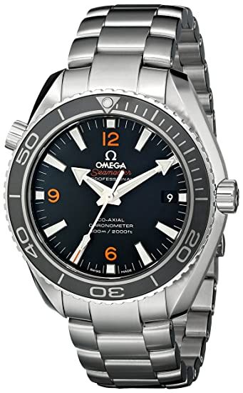 Omega Seamaster Planet Ocean 600M - Reloj (Reloj de Pulsera, Masculino, Acero,