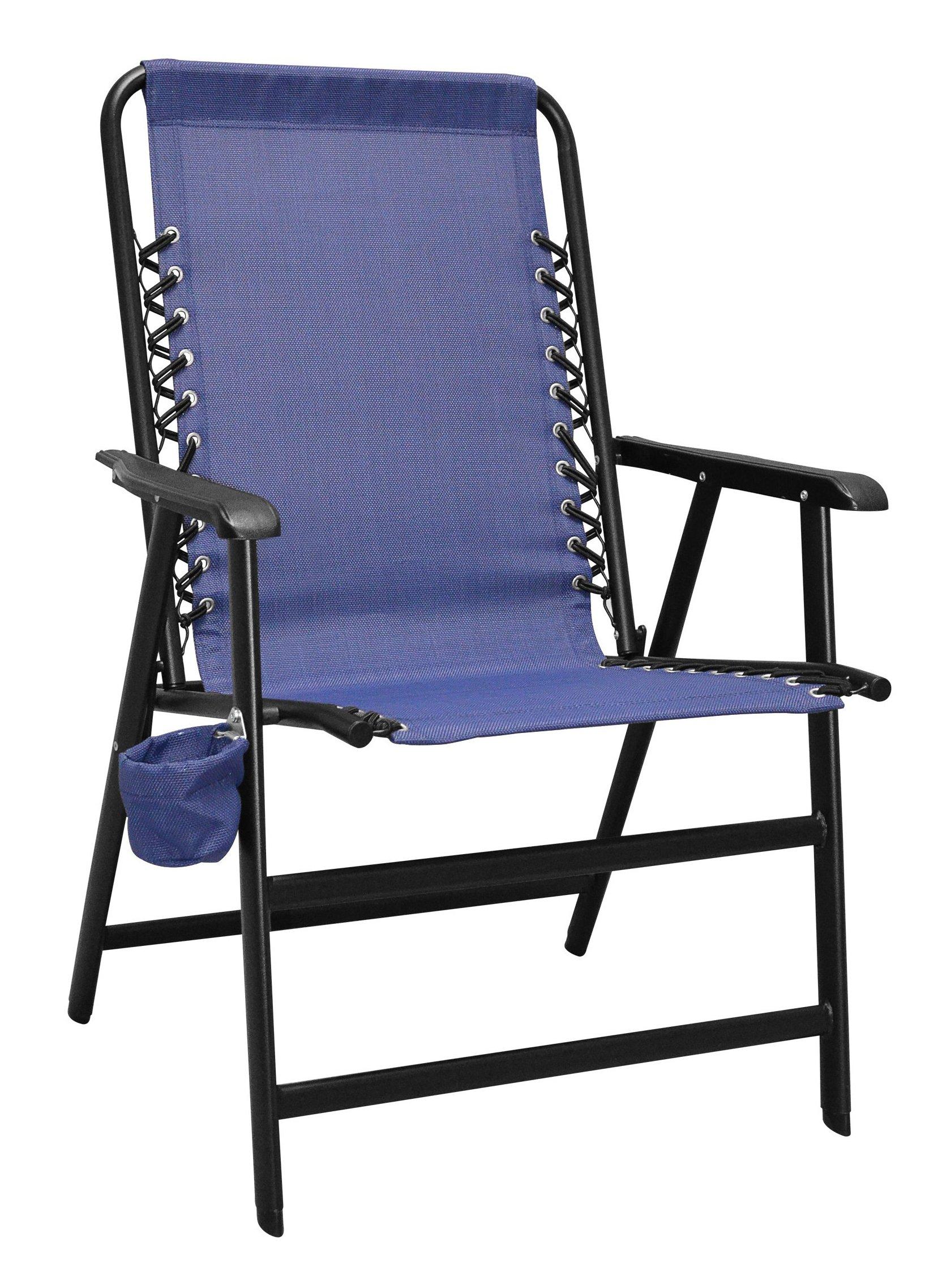 Caravan Canopy Sport Suspension Chair, X-Large, Blue