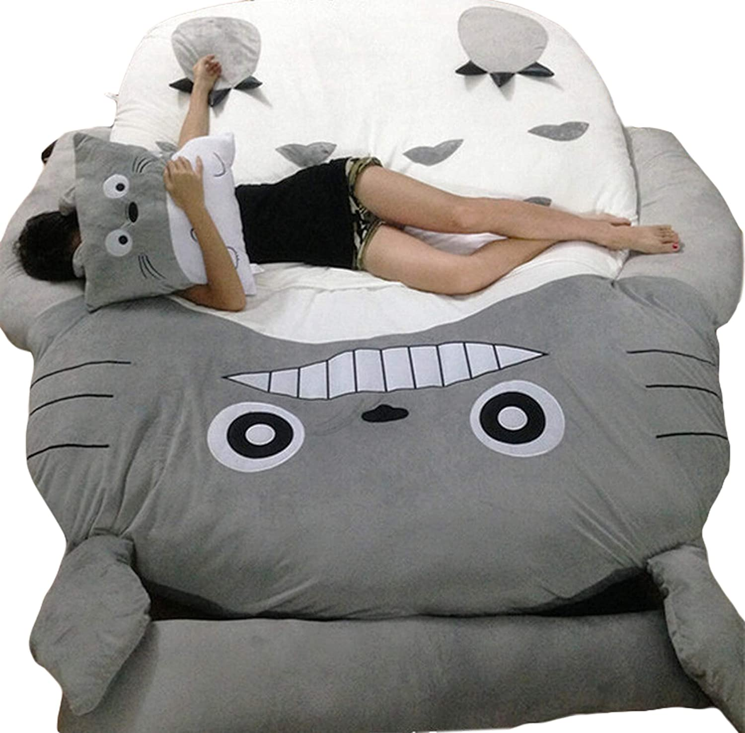 Christmas Totoro Bed Design Big Sofa Totoro Bed Mattress Child's Sleeping Bag Mattress BEDTOTORO