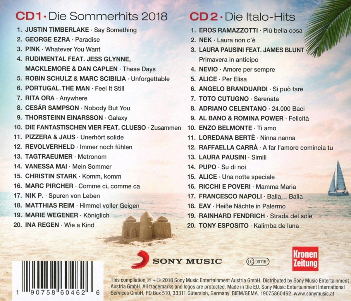 Super Sommer Hits 2018 - Various: Amazon.de: Musik