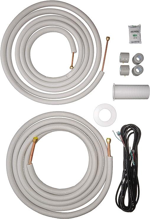Mini Split AC Air Conditioner 3//8 and 5//8 OD refrigerant copper iine set 25 ft