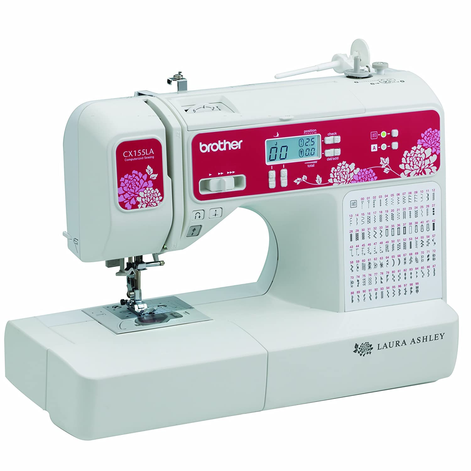 Amazon Brother Sewing Laura Ashley CX155LA Limited Edition