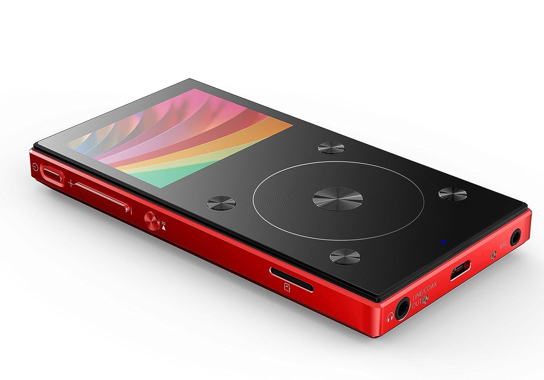 Reproductor de Audio de Alta definición X3 Mark III y Reproductores de MP3, 192 kHz/32bit, Bluetooth 4.1, Rueda táctil para navegar por el MP3, de ...