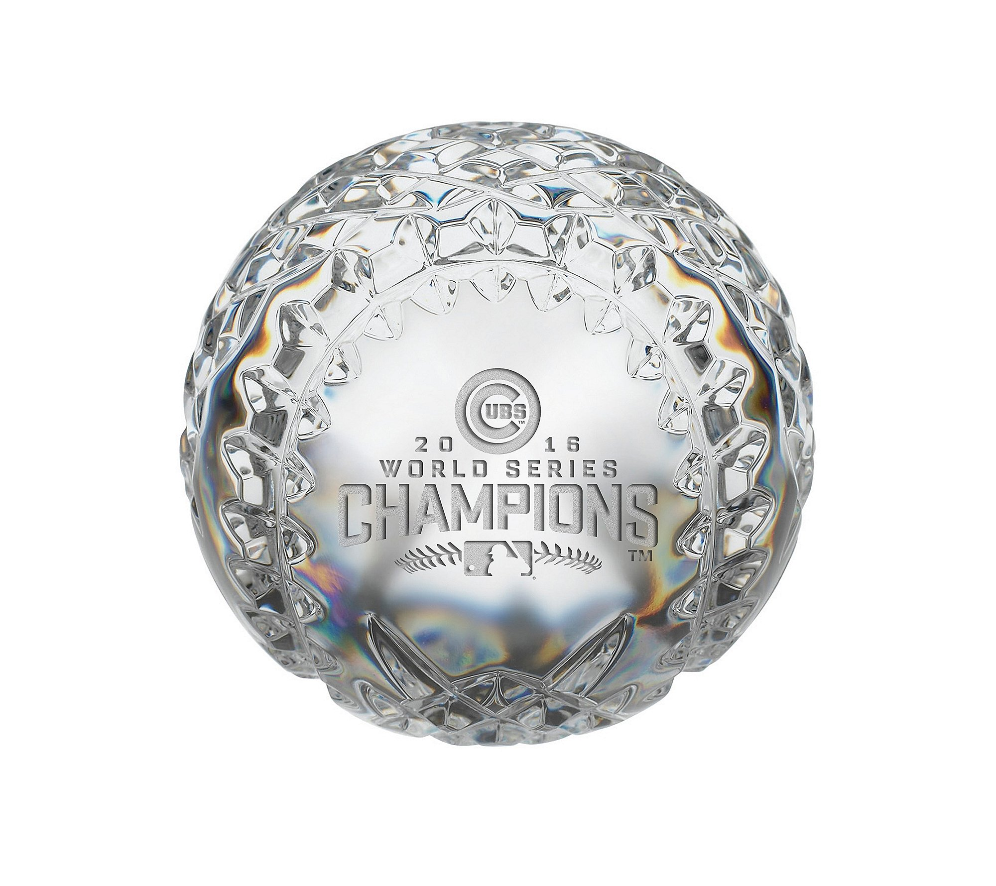 Waterford MLB Chicago Cubs 2016 World Series Champs Baseball