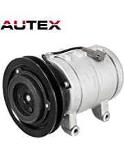 AUTEX AC Compressor and A/C Clutch CO 2511C TEM274408 Replacement for Nissan 720 1986