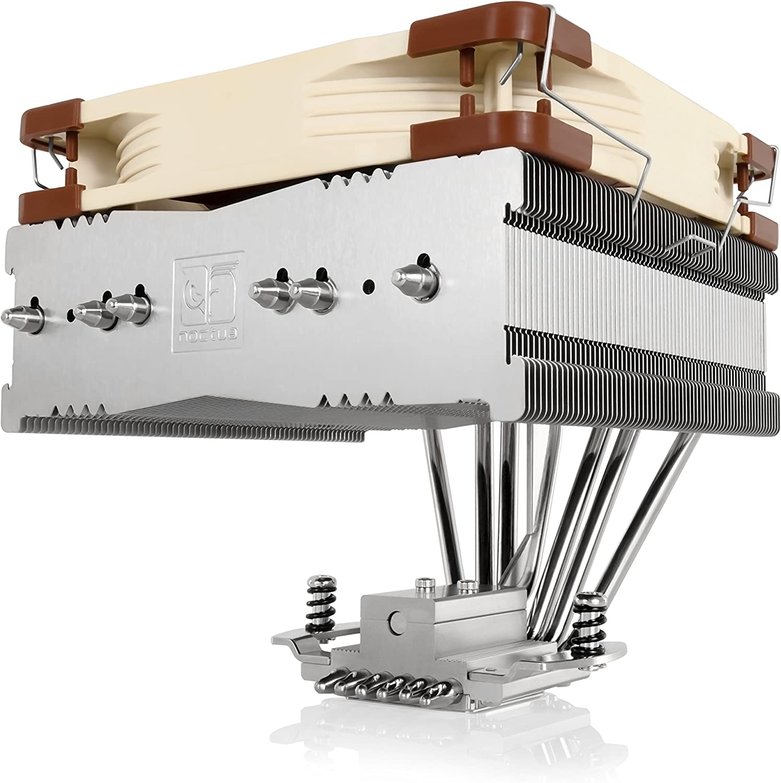 NOCTUA NH-C14S, Premium CPU Cooler with NF-A14 PWM 140mm Fan (Brown)