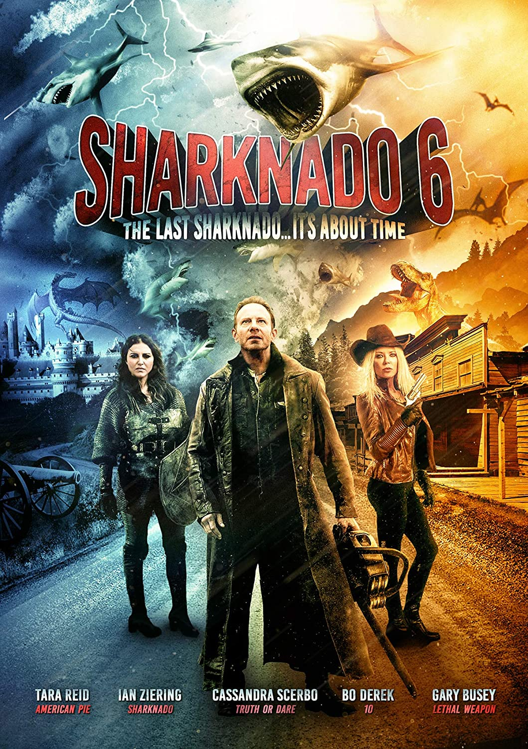 Sharknado 6: The Last Sharknado [DVD] [Reino Unido]: Amazon.es ...