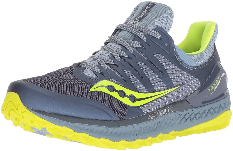 Saucony Women's Xodus Iso 3 Sneaker B077Y4H28P 6 B(M) US|Grey/Citron