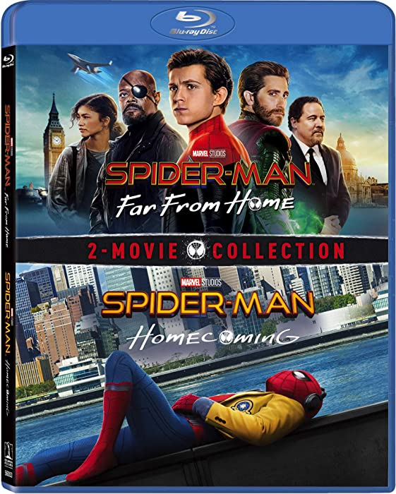 Top 8 Spiderman Far From Home Blue Rayk