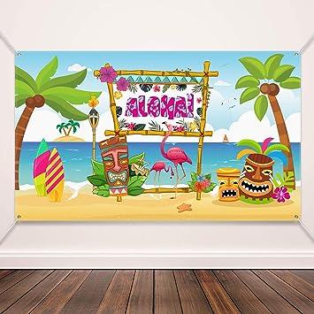 Amazon.com: Hawaiian Aloha suministros de decoración para ...