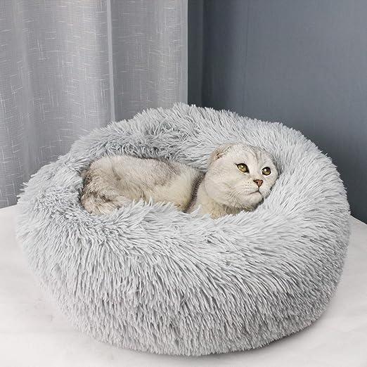 XHHXPY Pelo Largo Casa para Mascotas Cama De Perro Gato Puppy ...