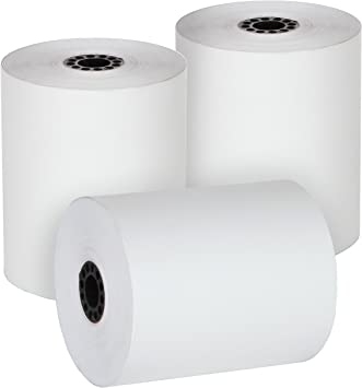 Shrink Wrap 3 1 8 x 230 Thermal Paper roll for Most Receipt Printers POS Systems and Cash Registers 10 Rolls, 3 1//8 X 230 Thermal Paper Rolls
