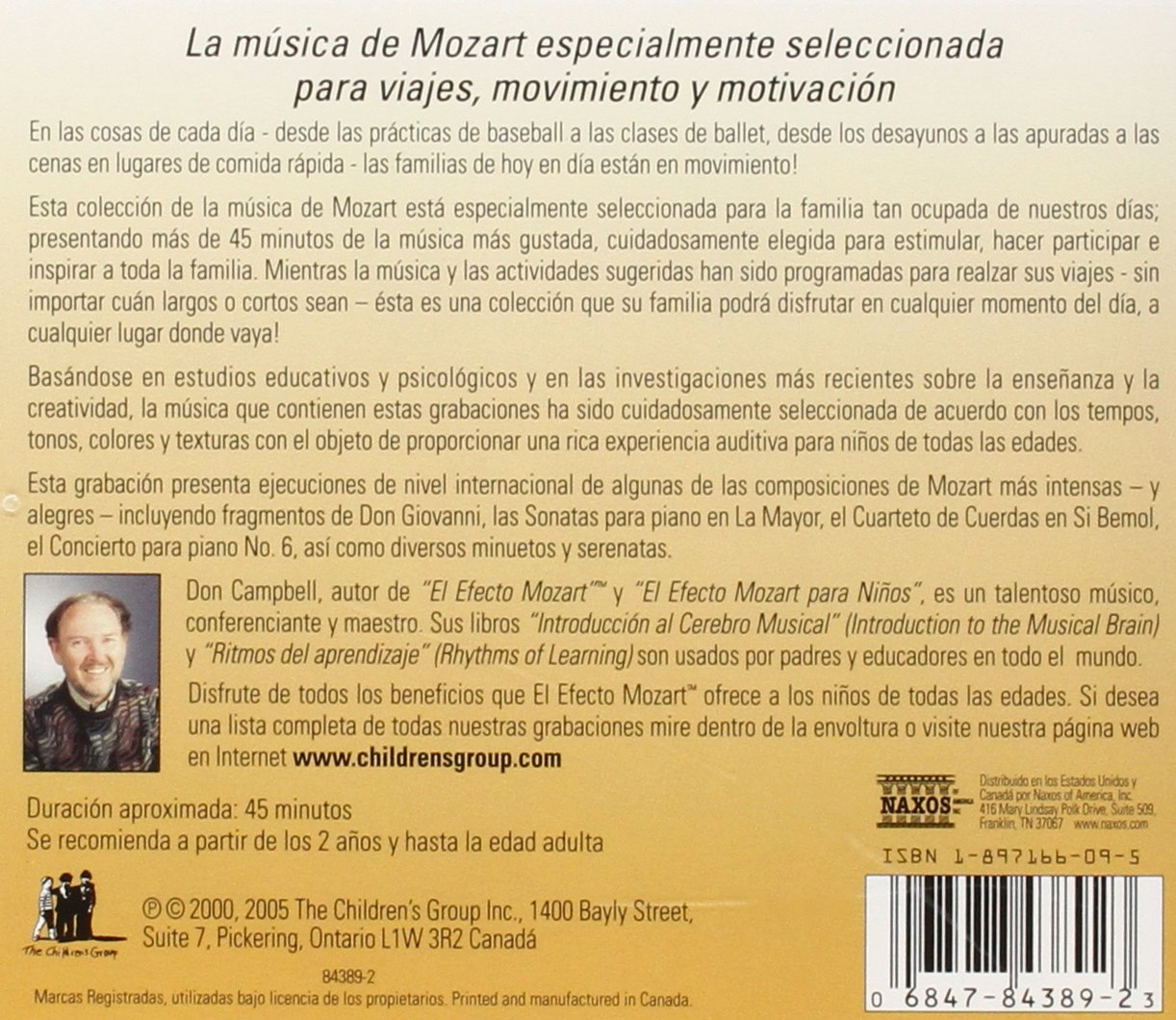 Efecto Mozart: Musica Para Ninos 4 / Various by Alliance