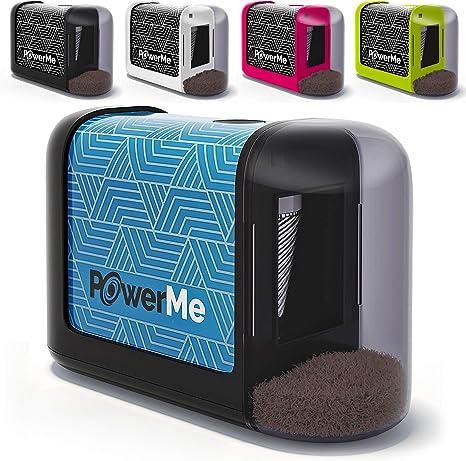 POWERME Electric Pencil Sharpener - Pencil Sharpener Battery Powered for Kids