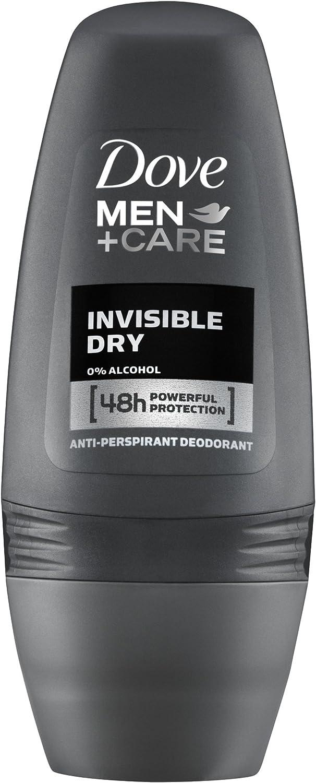 Dove - Desodorante para hombre Invisible Dry,  50 ml, paquete de 3