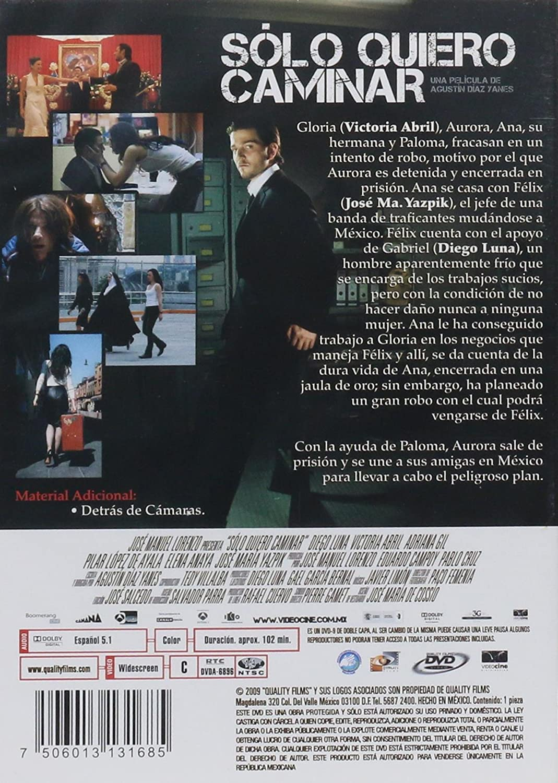 Amazon.com: - Solo Quiero Caminar (Just Walking) [*Ntsc/region 1 & 4 Dvd. Import-latin America] Victoria Abril, Diego Luna - No English options: Movies & TV