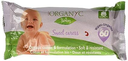 Organyc - Toallitas Bebé bio Organyc, 60ud