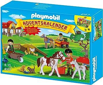 Playmobil Weihnachtskalender.Playmobil 4167 Adventskalender Reiterhof