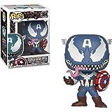 Pop Venomized Captain America Vinyl Figure