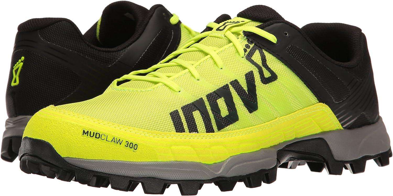 Inov-8 Mudclaw 300, Zapatillas para Correr en montaña para Hombre, Negro, 36.5 EU: Amazon.es: Zapatos y complementos