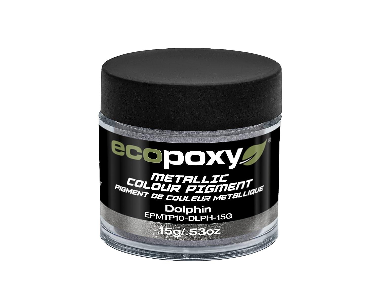 Ecopoxy pigmento metallico, Dolphin, 15g