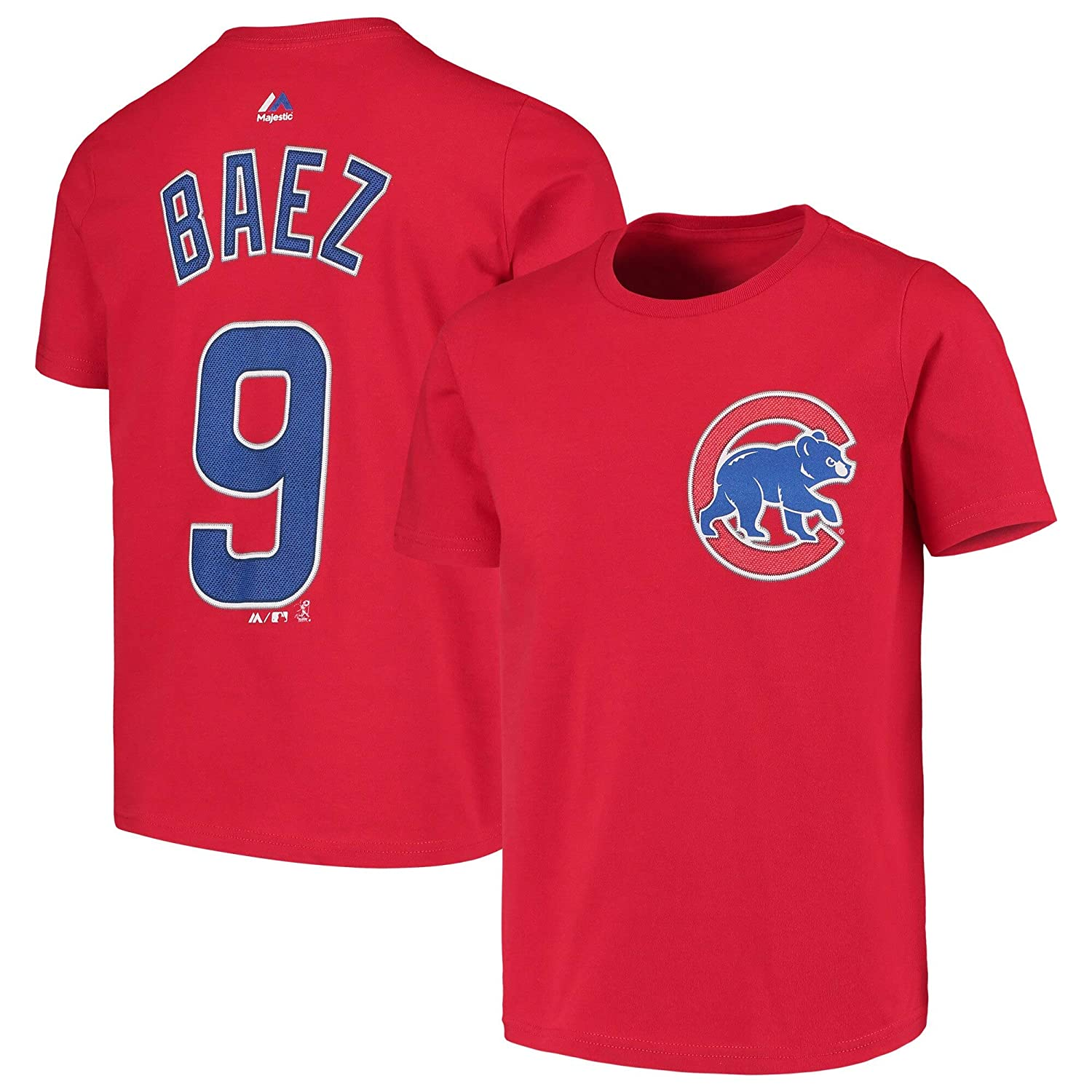 new styles 3f0c2 6edf6 Amazon.com : Outerstuff Javier Baez Chicago Cubs #9 Youth ...