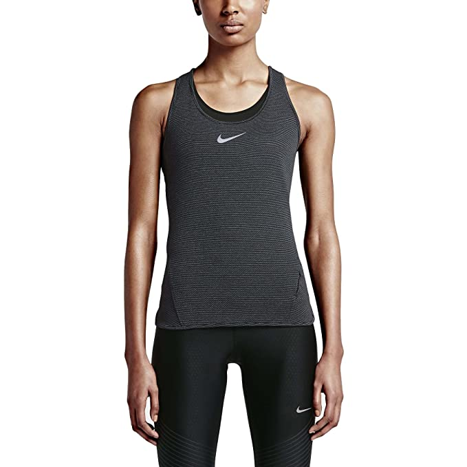 Nike Women`s AeroReact Running Tank Top at Amazon Women's Clothing store: