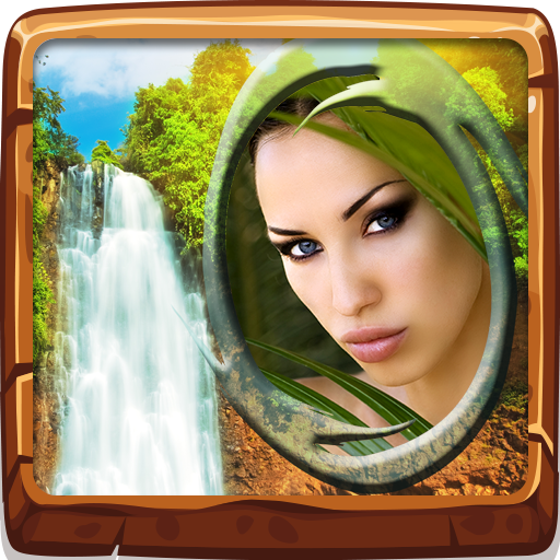 Waterfall Photo Frames - Color Is Favorite Ray Ray What