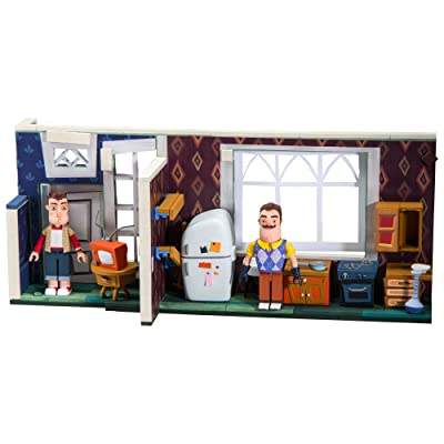 McFarlane Toys Hello Neighbor The Neighbor's House Large Construction Set: Toys & Games