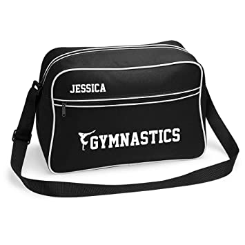 Inspired Creative Design Girls Gymnastics Sports Bag Holdall White or  Black. Perfect for your Kit c3e664f6e6893