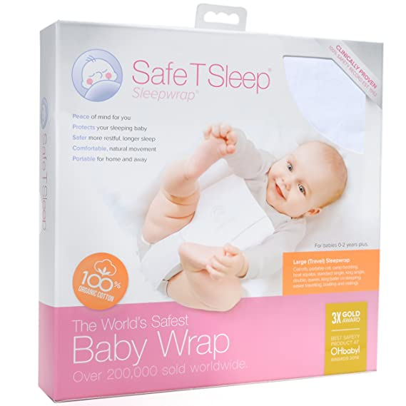 Safe T Sleep sleepwrap Travel - sobre y positionneur para bebés: Amazon.es: Bebé