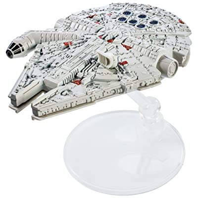 Hot Wheels Star Wars Starships 40th Anniversary Millennium Falcon Vehicle: Toys & Games