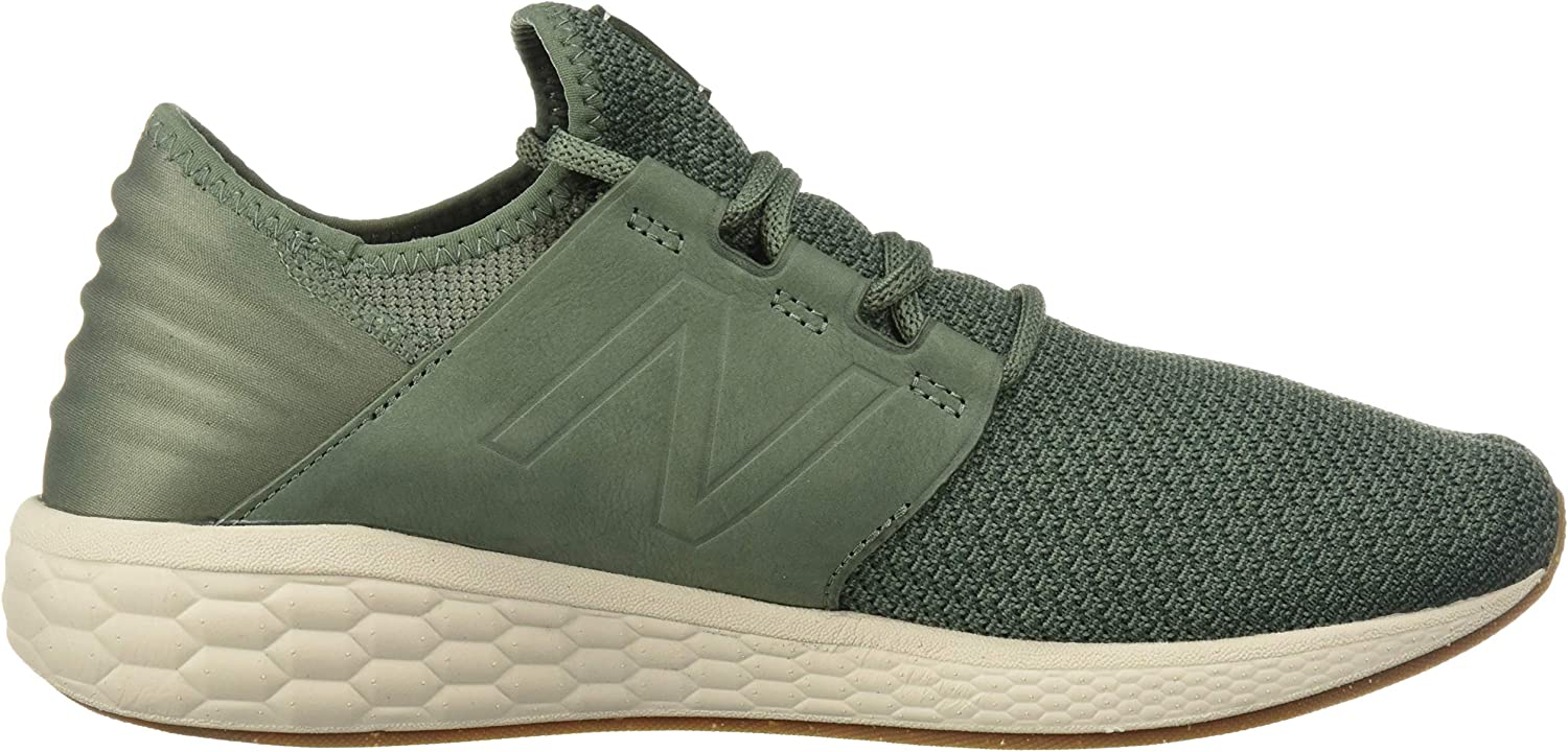 New Balance Herren Fresh Foam Cruz V2 Sneaker Grün (Vintage Cedar/Faded Rosin/Moonbeam Nm2)