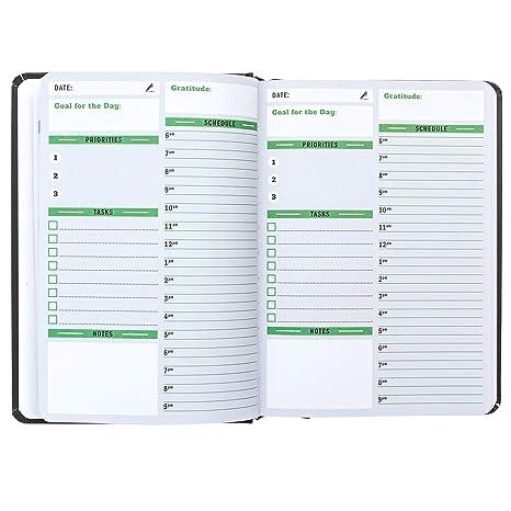 Amazon.com: Organizador de planificador sin fechas ...
