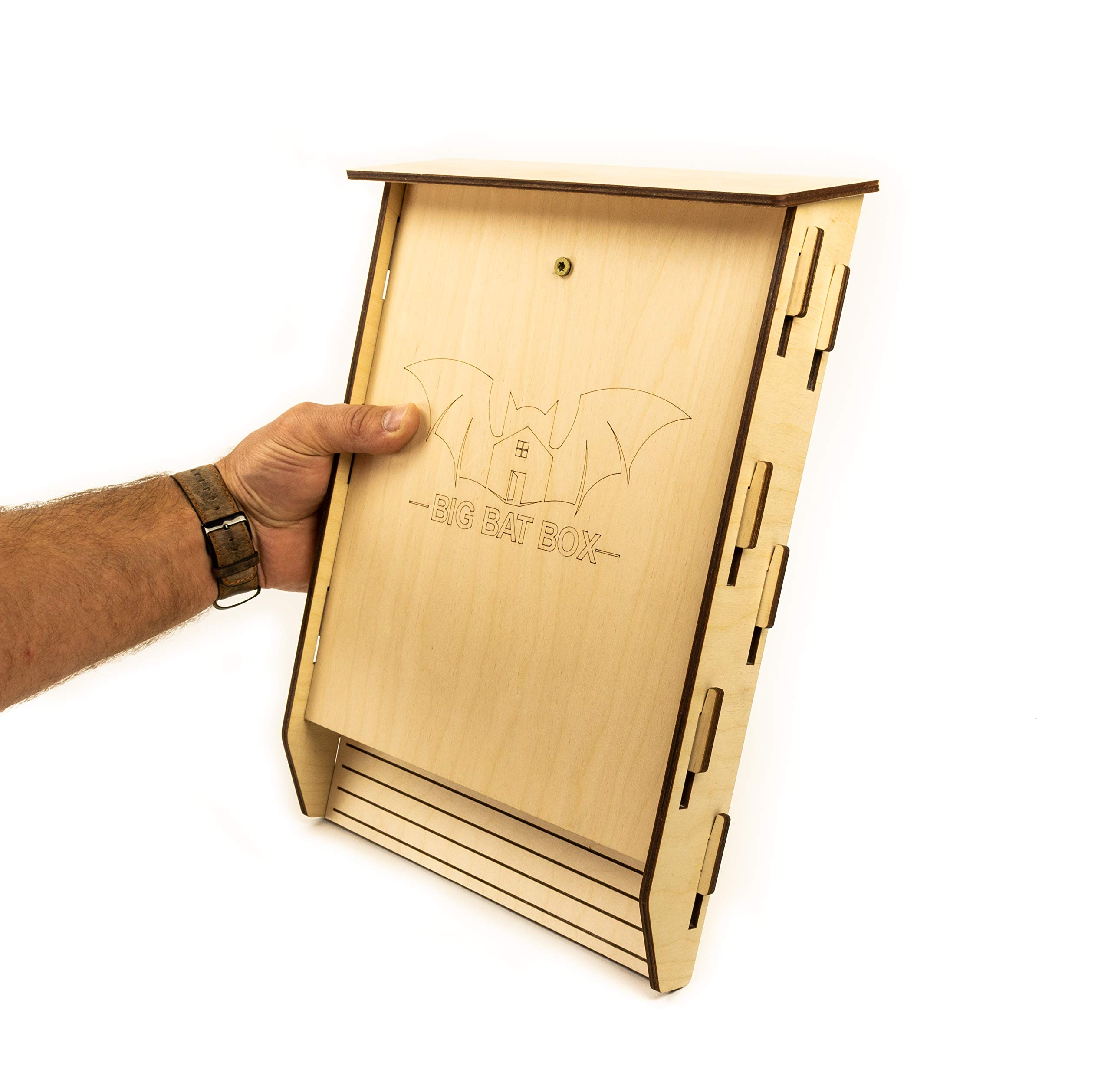Bat House Kit 1-Chamber, Natural by Big Bat Box